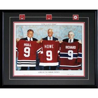 Three Great 9's 16x20-inch Frame Howe Richard Hull