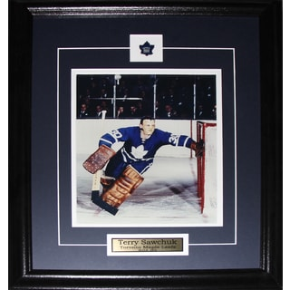 Terry Sawchuk Toronto Maple Leafs 8x10-inch Frame