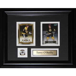 Terry O'reilly Boston Bruins 2-card Frame
