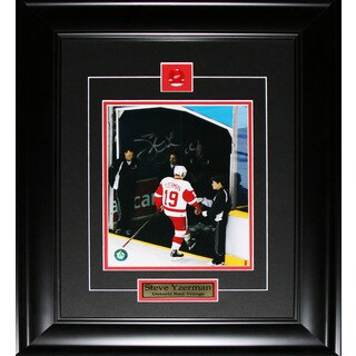 Steve Yzerman Detroit Red Wings Final Game Signed 8x10-inch Frame