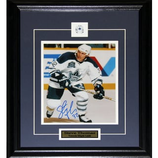 Steve Thomas Toronto Maple Leafs Signed 8x10-inch Frame