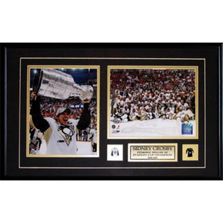Sidney Crosby Pittsburgh Penguins 2010 Stanley Cup 2-photo Frame