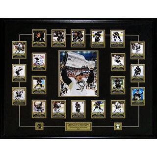 Sidney Crosby Phenomenal Beginning Full Card Set Stanley Cup Frame