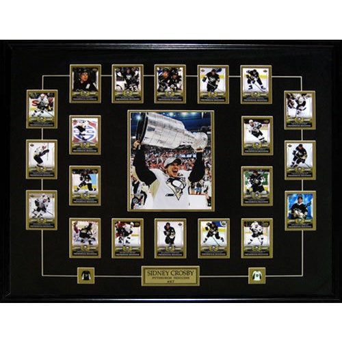 Sidney Crosby Phenomenal Beginning Full Card Set Stanley Cup Frame