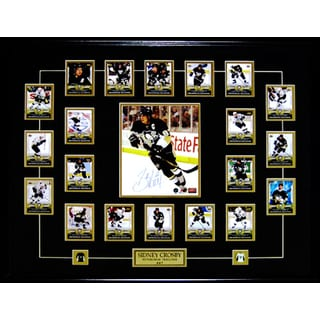 Sidney Crosby Phenomenal Beginning Full Card Set Frame