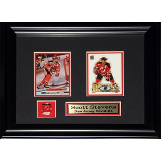 Scott Stevens New Jersey Devils 2-card Frame
