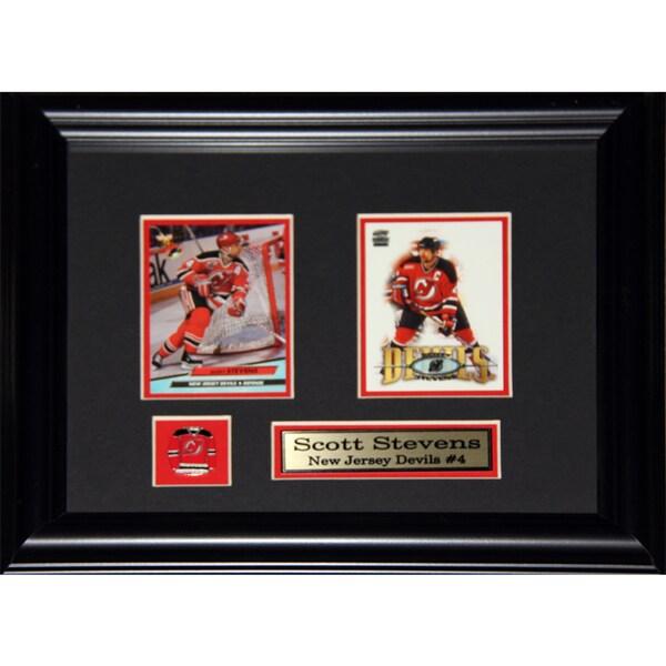 Scott Stevens New Jersey Devils 2-card Frame