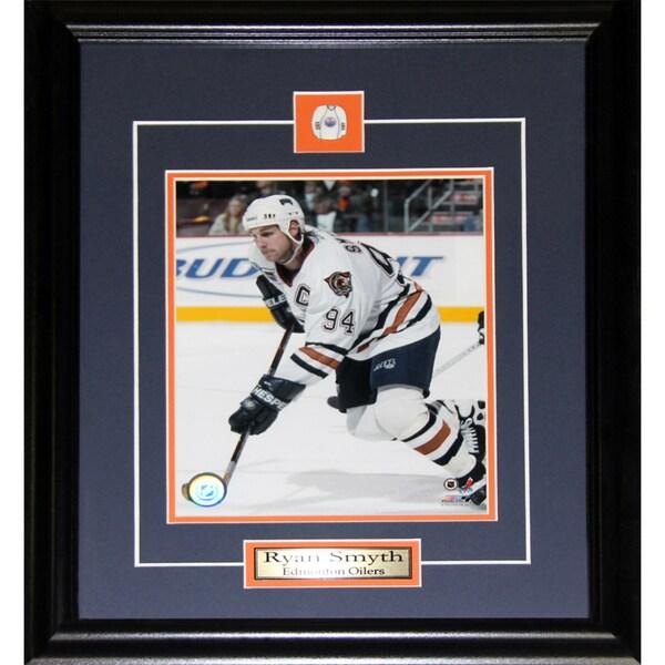 Ryan Smyth Edmonton Oilers 8x10-inch Frame