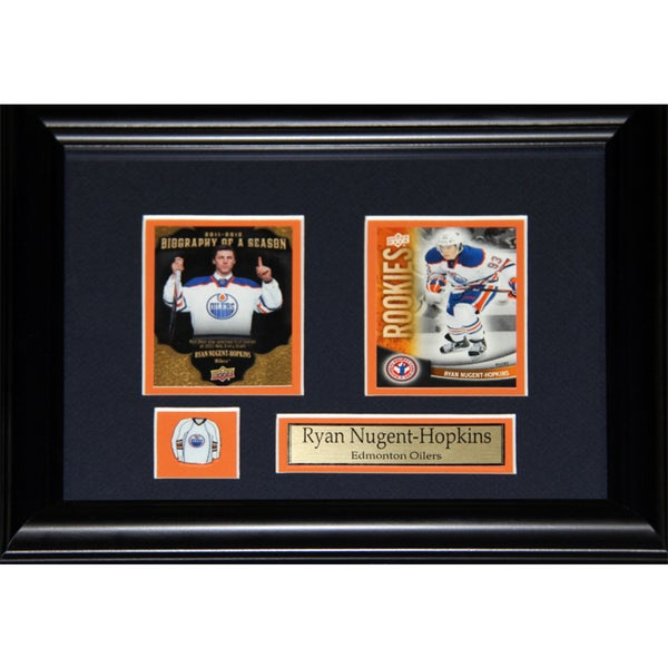 Ryan Nugent-hopkins Edmonton Oilers 2-card Frame