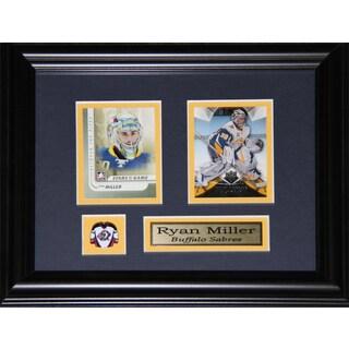 Ryan Miller Buffalo Sabres 2-card Frame