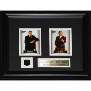 Ron Maclean and Don Cherry 2-card Frame