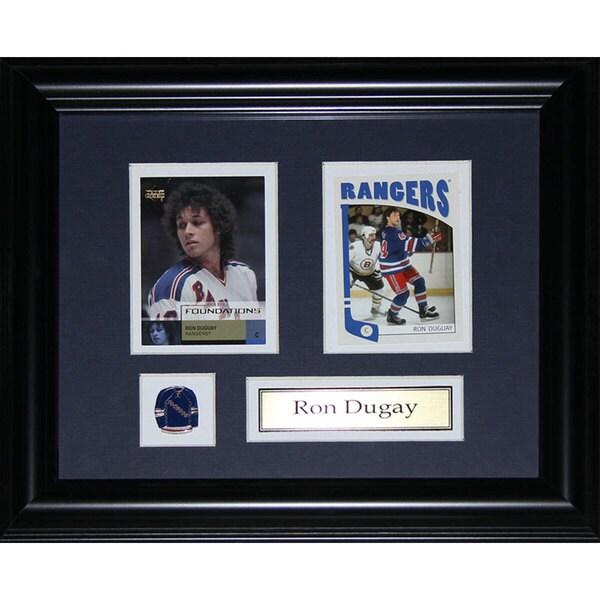 Ron Dugay New York Rangers 2-card Frame