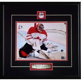 Roberto Luongo Team Canada 8x10-inch Frame