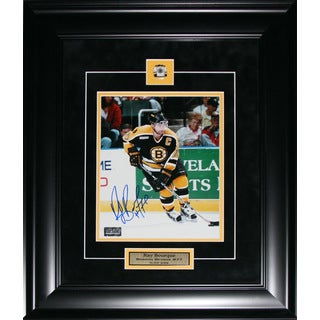 Ray Bourque Boston Bruins Signed 8x10-inch Frame