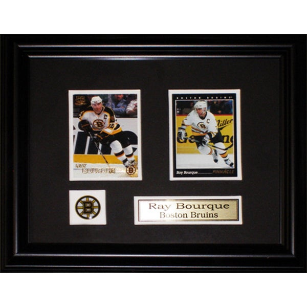 Ray Bourque Boston Bruins 2-card Frame