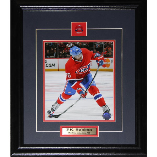 Pk Subban Montreal Canadiens 8x10-inch Frame
