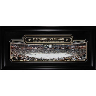 Pittsburgh Penguins Consol Energy Center Panorama Deluxe Frame