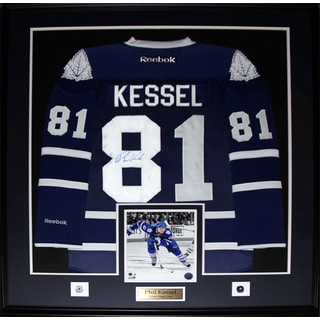 Phil Kessel Toronto Maple Leafs Signed Jersey Frame