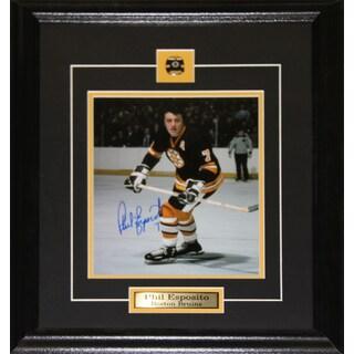 Phil Esposito Boston Bruins Signed 8x10-inch Frame