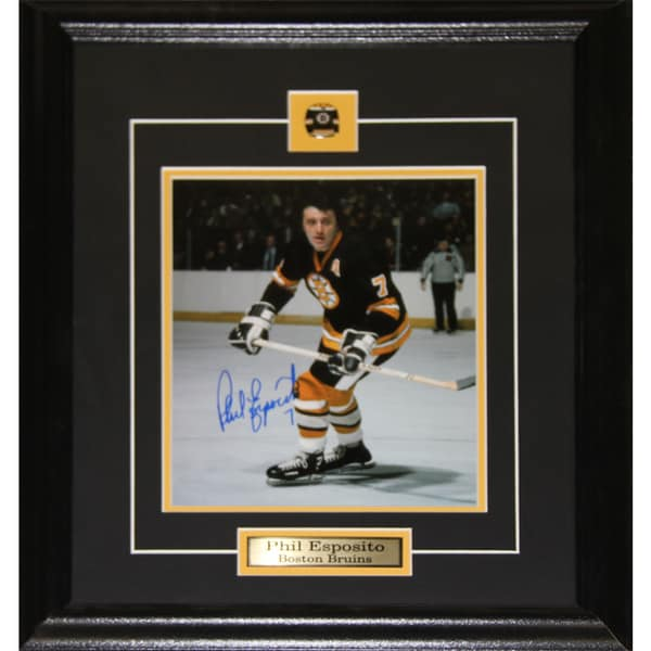 Phil Esposito Boston Bruins Signed 8x10-inch Frame