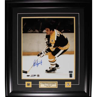 Phil Esposito Boston Bruins Signed 16x20-inch Frame