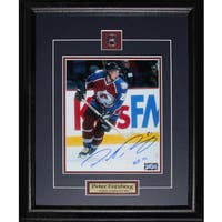 Peter Forsberg Colorado Avalanche Signed 8x10-inch Frame