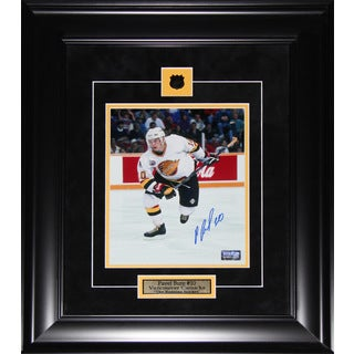 Pavel Bure Vancouver Canucks Signed 8x10-inch Frame