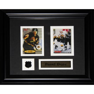 Pavel Bure Vancouver Canucks 2-card Frame