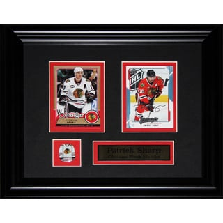 Patrick Sharp Chicago Blackhawks Nhl 2-card Frame