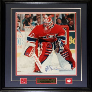 Patrick Roy Montreal Canadiens Signed 16x20-inch Frame