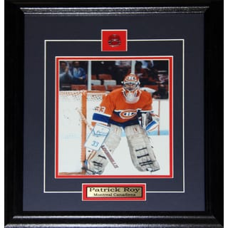 Patrick Roy Montreal Canadiens 8x10-inch Frame