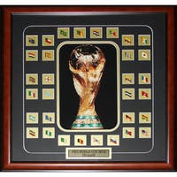 Fifa 2014 World Cup Final 32 Team Pins Soccer Frame