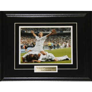 Fabio Cannavaro Real Madrid Soccer 8x10-inch Frame