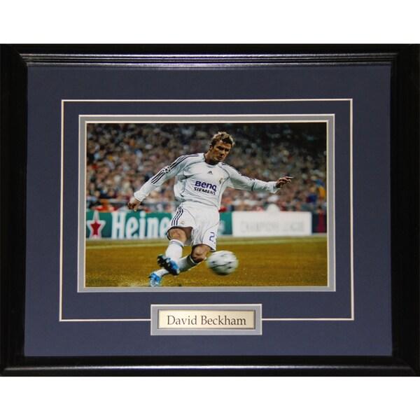 David Beckham Soccer 8x10-inch Frame