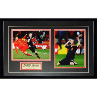Charles Iniesta Team Spain Fifa 2010 World Cup 2-photo Frame