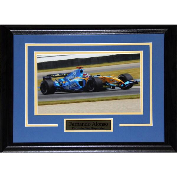 Fernando Alonso Formula One 8x10-inch Frame