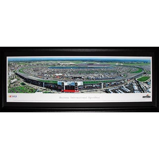Daytona International Speedway Nascar Racing Panorama Frame