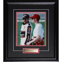 Dale Earnhardt Sr. and Jr. Nascar Racing 8x10-inch Frame