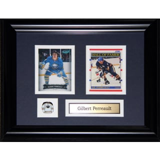 Gilbert Perreault Buffalo Sabres 2-card Frame