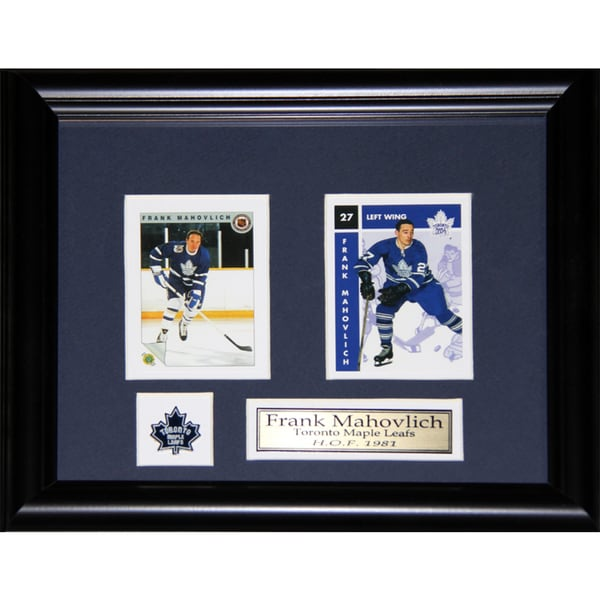 Frank Mahovlich Toronto Maple Leafs 2-card Frame