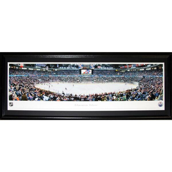 Edmonton Oilers Rexall Place Panorama Frame