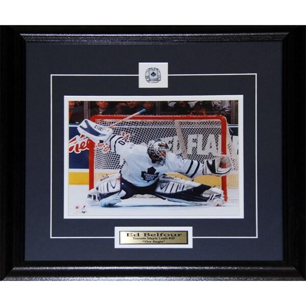 Ed Belfour Toronto Maple Leafs 8x10-inch Frame