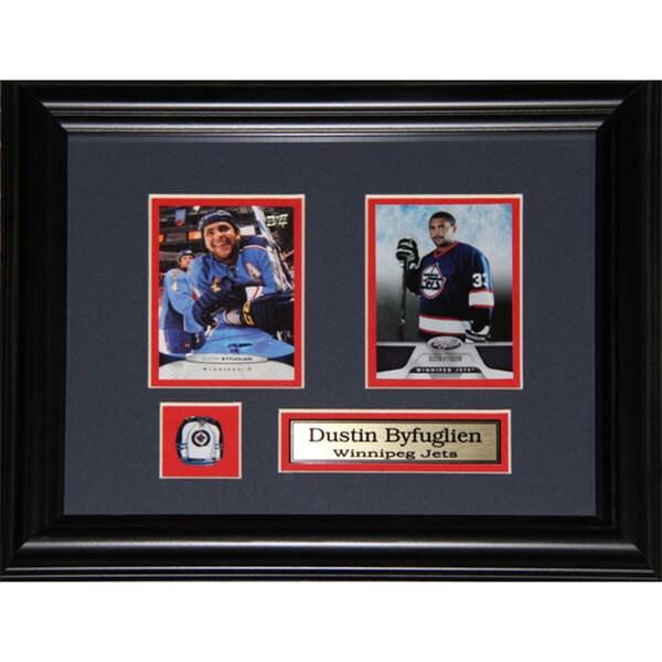 Dustin Byfuglien Winnipeg Jets 2-card Frame