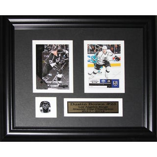 Dustin Brown Los Angeles Kings 2-card Frame
