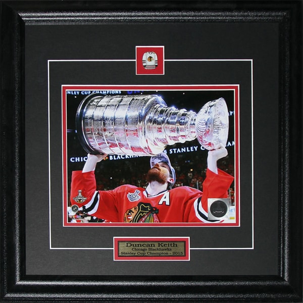 Duncan Keith Chicago Blackhawks 2015 Stanley Cup 8x10-inch Frame