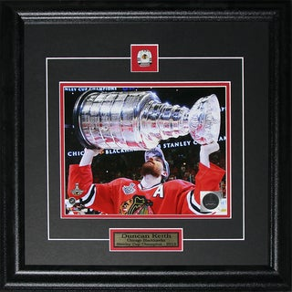 Shop Duncan Keith Chicago Blackhawks 2015 Stanley Cup 8x10