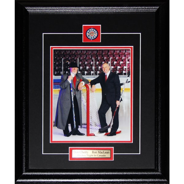 Don Cherry and Ron Maclean 8x10-inch Frame