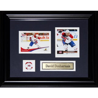 David Desharnais Montreal Canadiens 2-card Frame