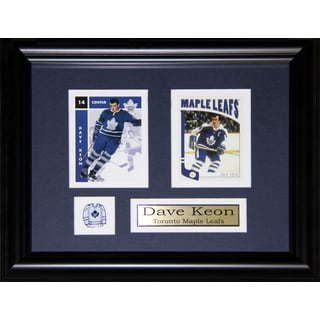 Dave Keon Toronto Maple Leafs 2-card Frame