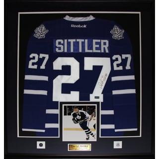 Darryl Sittler Toronto Maple Leafs Signed Jersey Frame